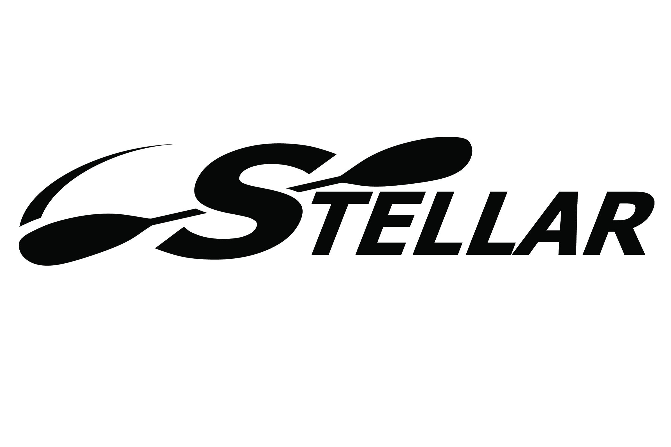 Stellar Decal Black 16cm