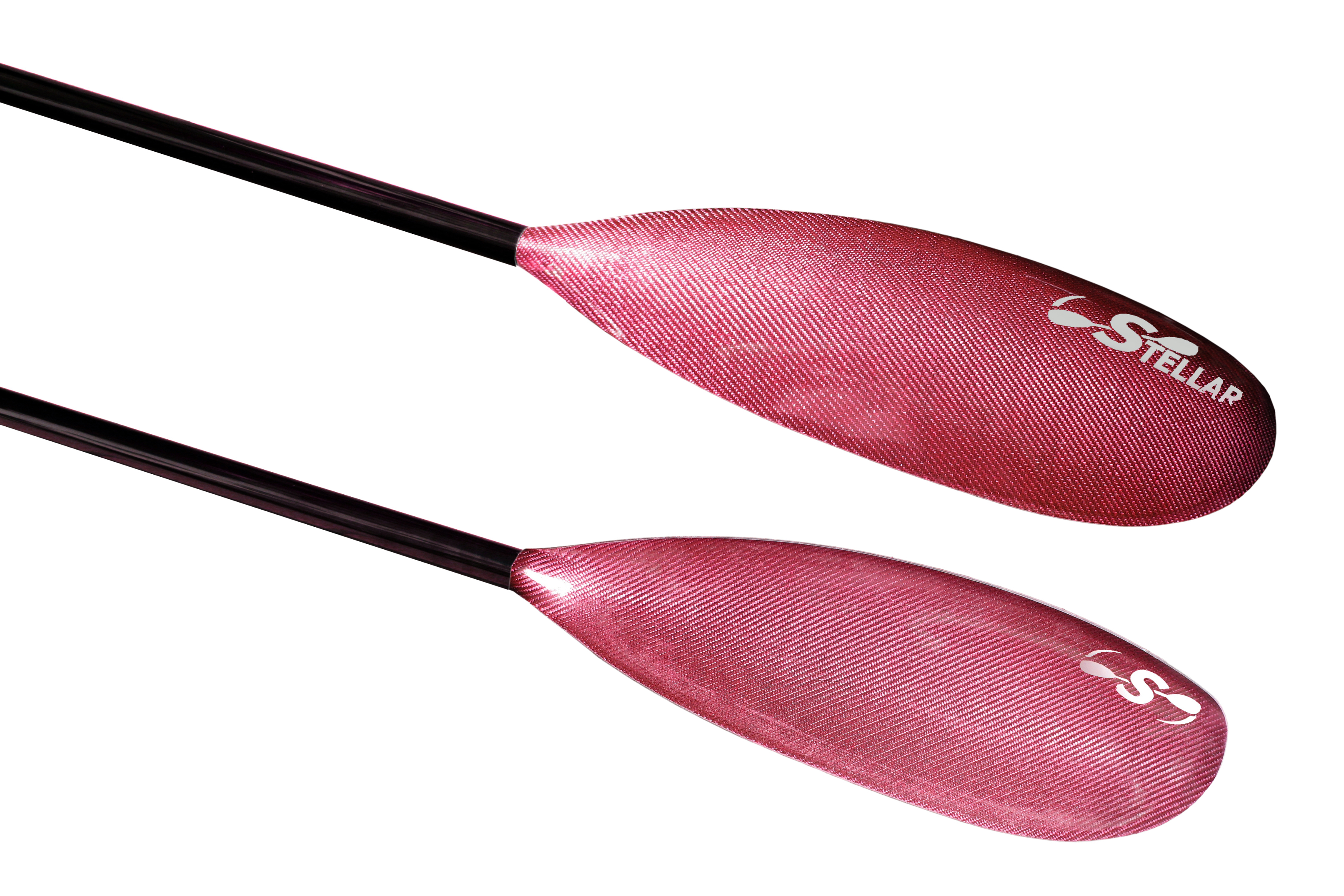 Red Hybrid Small Wing Kayak Paddle