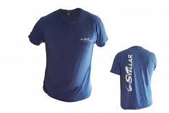 Blue Tri-Blend T Shirt