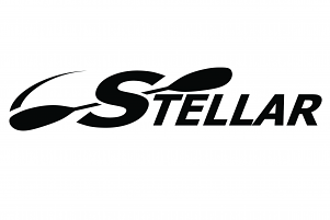 Stellar Decal Black 38cm