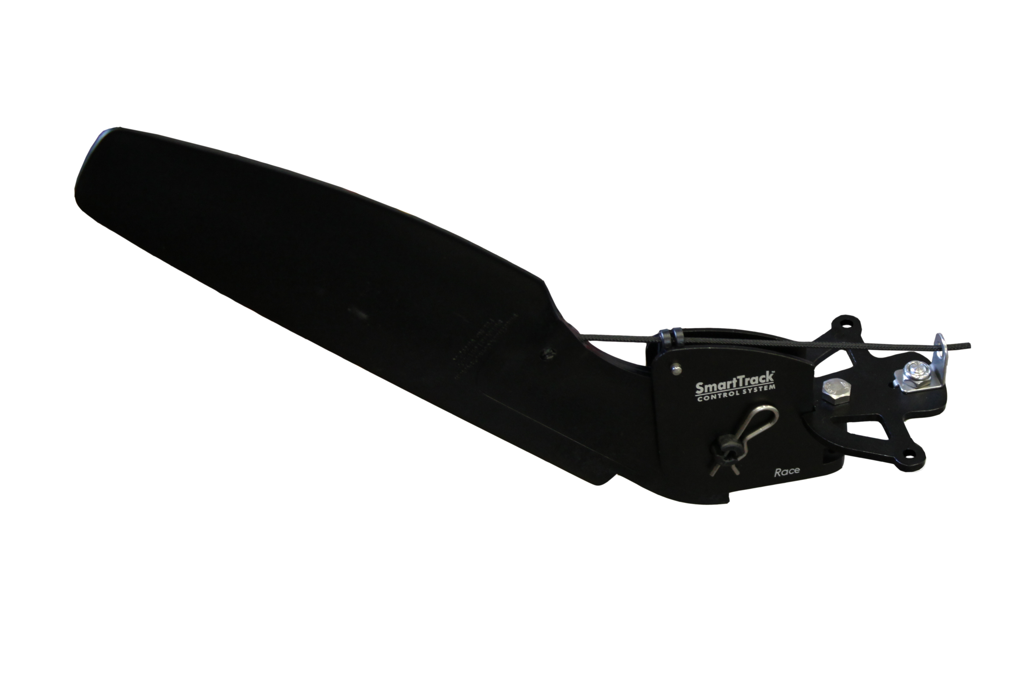 Race Rudder with Bayonet Pin