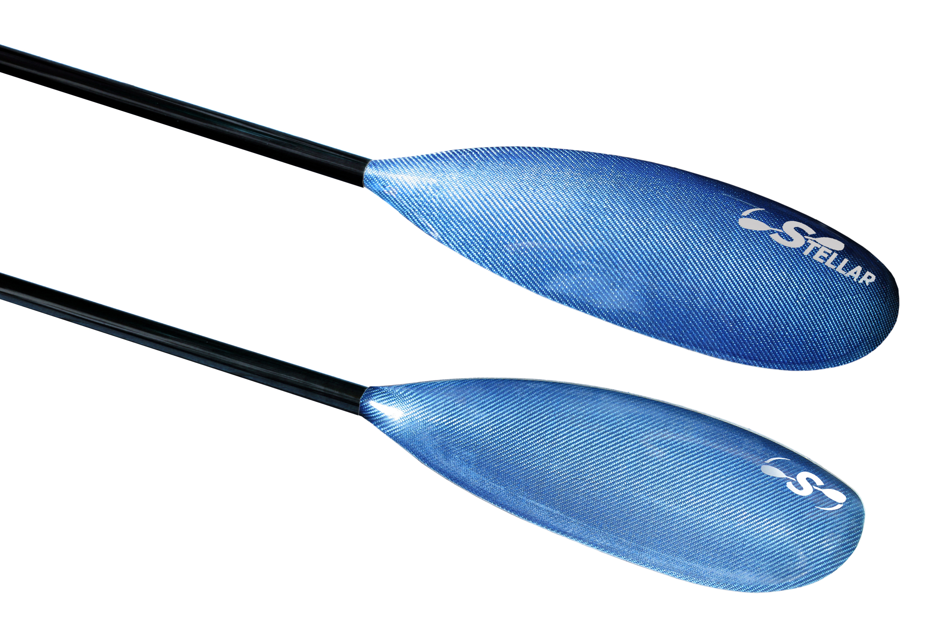 Blue Hybrid Small Wing Kayak Paddle